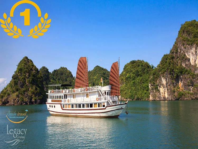 Du thuyền Hạ Long Legacy Legend Cruise- smile travel