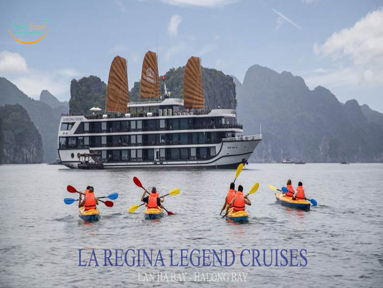 du thuyen Laregina Legend Cruises- Smile Travel