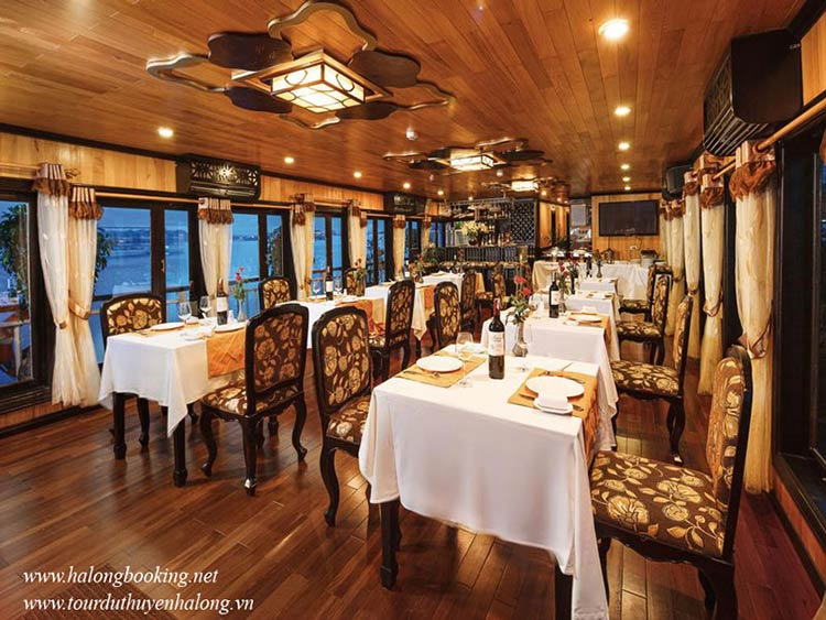 Bellezza-Cruises-Halong-restaurant