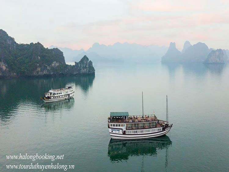 Tour Du Thuyền Majestic Halong- Smile Travel