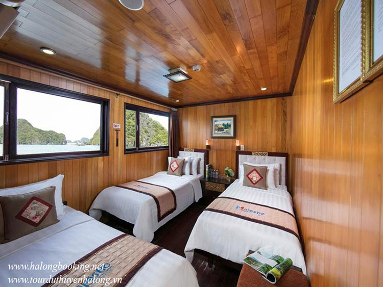 Majestic-Halong-Cruise-triple-room