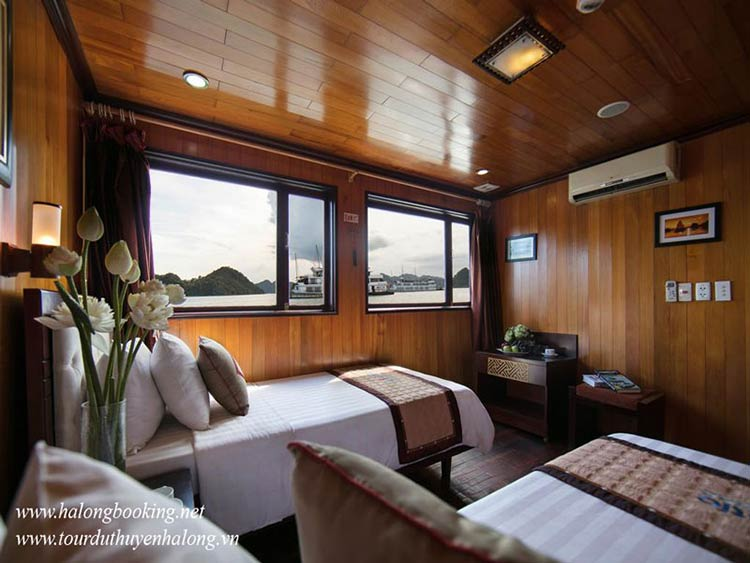 Majestic-Halong-Cruise-twin-cabin-smiletravel