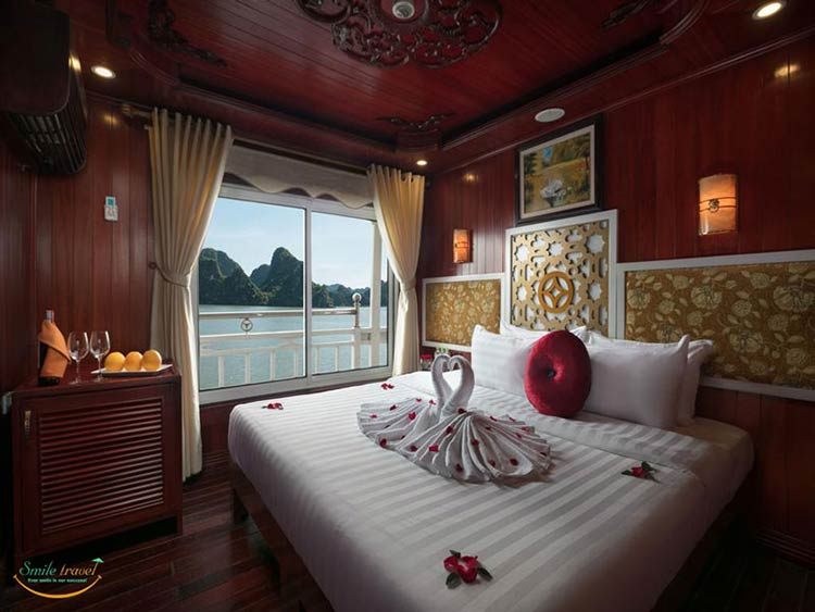 rose-cruise-halong-seaview-double-cabin