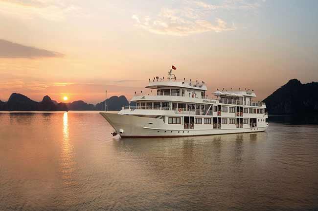 Đặt Tour Du thuyền 5 Sao Athena Luxury Sang Trọng Tại Quận Ba Đình