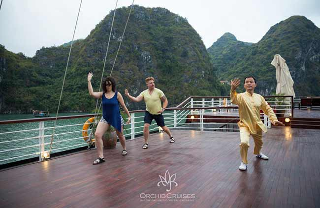 Tai chi Orchid cruise