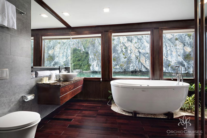 Orchid-cruises-halong-bay-suite-bathroom1