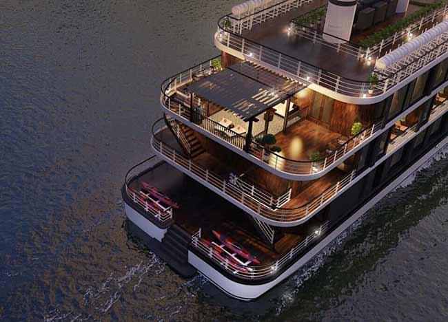 Chuẩn bị ra mắt Siêu Du thuyền HeritageCruise 5 sao