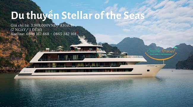 Booking Du thuyền Stellar of the Seas – Du thuyền 5 sao Đẳng Cấp