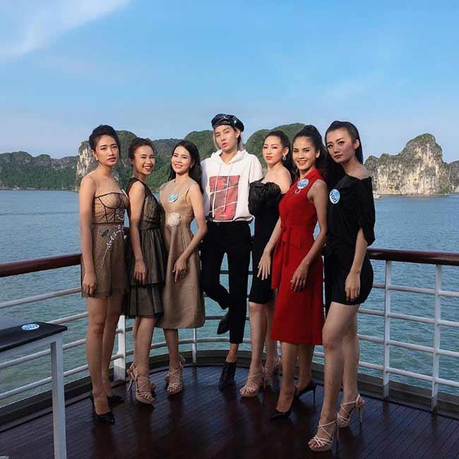 Ngắm các thí sinh Miss Word Việt Nam 2019 trên du thuyền Paradise Elegance