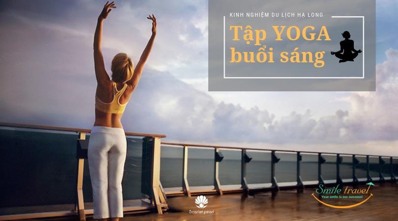 Tập yoga trên du thuyền Scarlet Peal