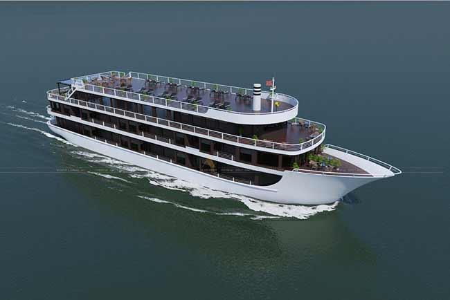 Du thuyền Doris Cruise Du thuyền 5 sao mới nhất
