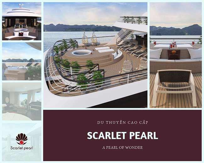 Du thuyền SCARLET PEARL đẳng cấp5 sao
