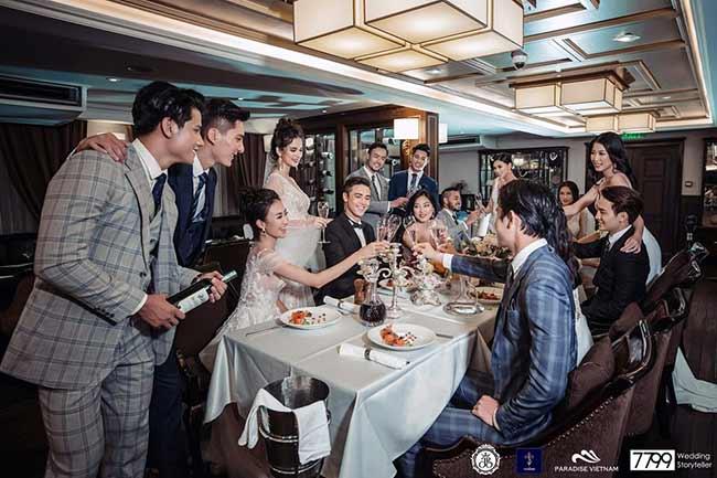 Tổ chức tiệc cưới trên du thuyền 5 sao Paradise Luxury