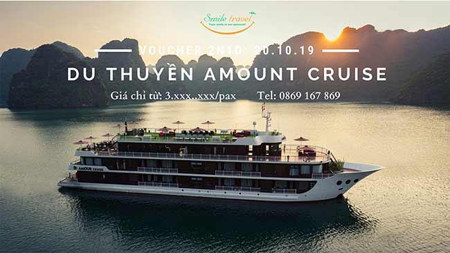 Voucher 2N1Đ Du thuyền Amour Cruise 5*, Dịp 20 – 10