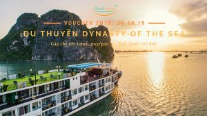 Voucher 2N1Đ Du thuyền Dynasty Of The Sea 5*, Dịp 20 – 10