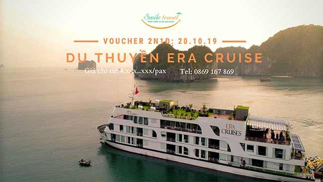 Voucher 2N1Đ Du thuyền Era Cruise 5*, Dịp 20 – 10