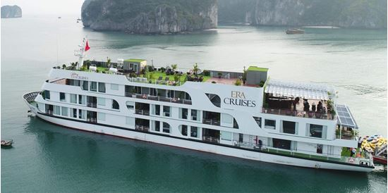 Voucher du thuyền 5 sao Era sang chảnh nhất Vịnh Lan Hạ