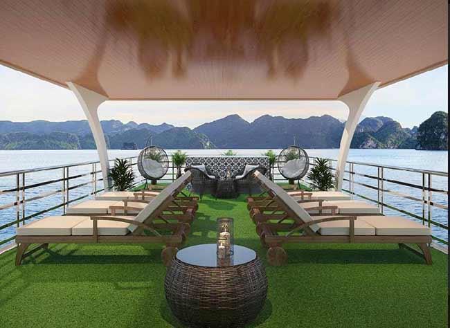 Du thuyền Halong Elite Cruise dịch vụ 5 sao đẳng cấp