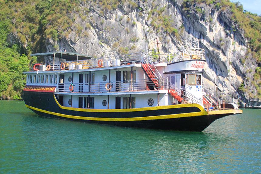 Tour 2N1Đ Du thuyền 3 sao Lan Hạ Legend Cruise