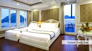 HẠNG PHÒNG EXCLUSIVE FAMILY SUITE: