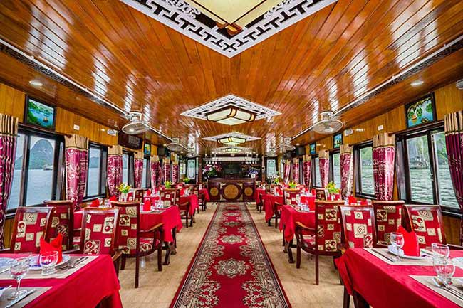 Halong-Sun-cruises-restaurant