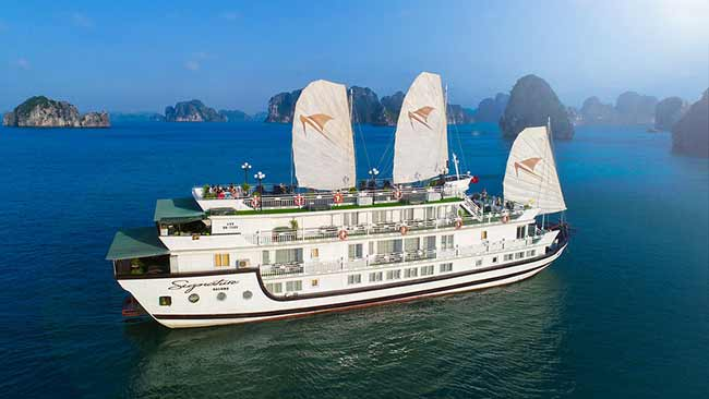 Du thuyền 5* Signature royal cruises