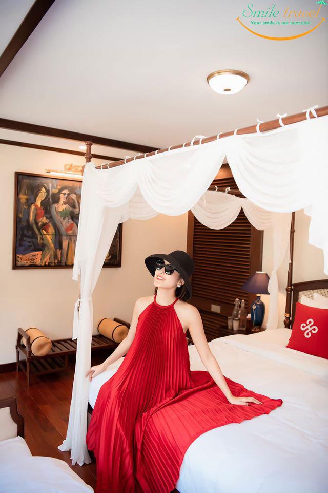 [2020] Review Du thuyền Heritage Cruises Binh Chuan Cat Ba Archipelago