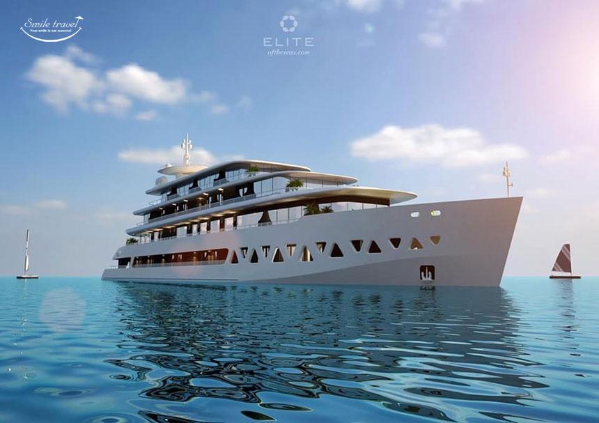 Sắp ra mắt siêu du thuyền Elite Of The Seas đẳng cấp 6 sao