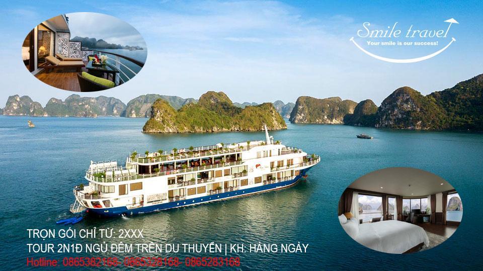 Cập nhật thông tin du thuyền Mon Chéri mới nhất 2021