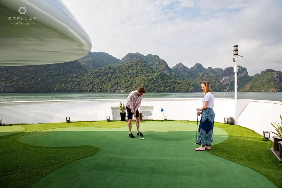 Sân golf- Stellar of the seas