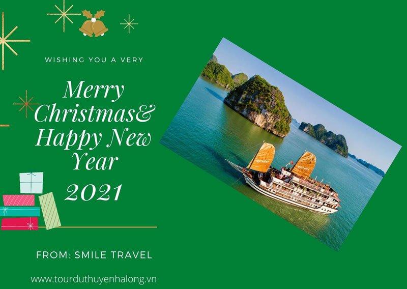 Tận hưởng không khí lễ hội Giáng Sinh và Năm mới trên Du Thuyền Victory Star 5*