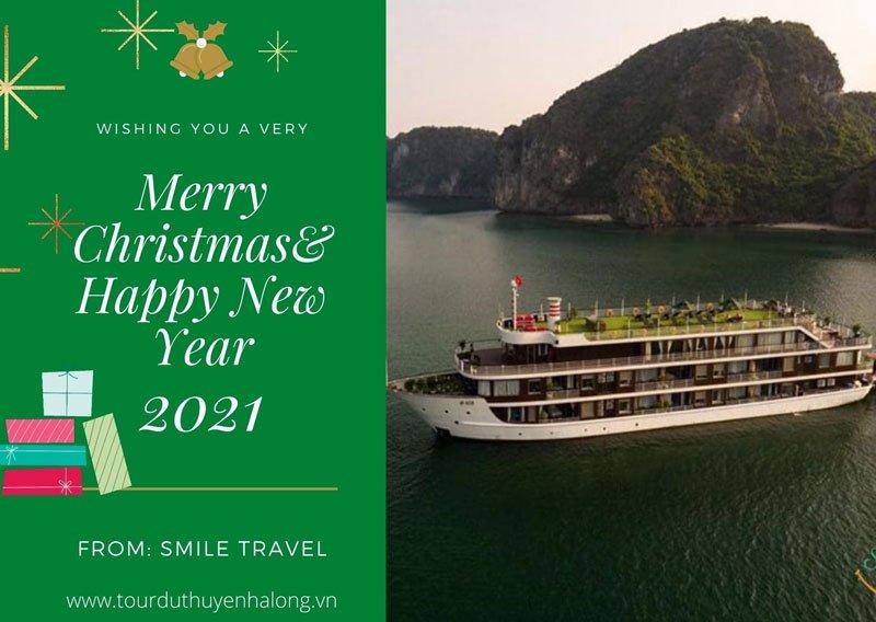 Tận hưởng không khí lễ hội Giáng Sinh và Năm mới trên Du Thuyền La Casta Regal 5*