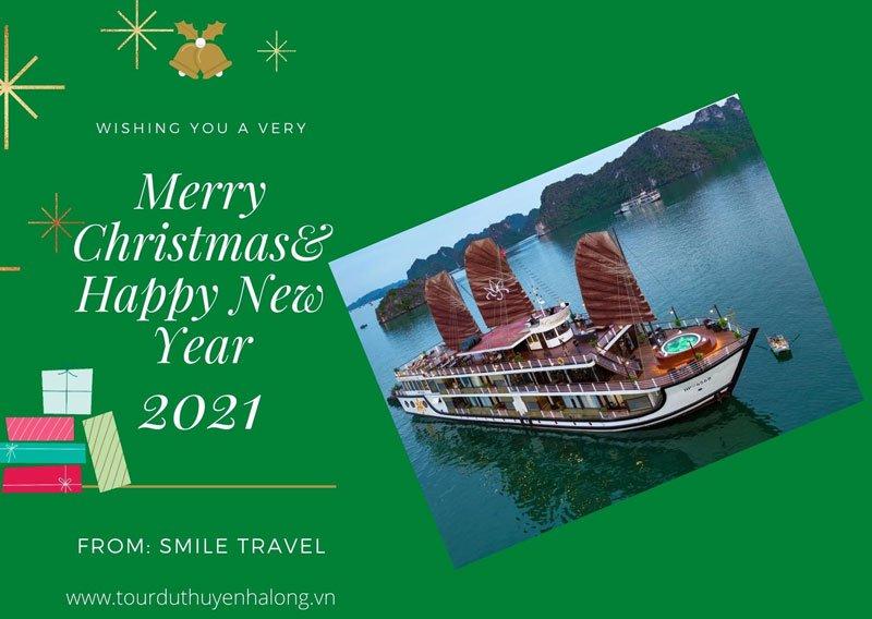 Tận hưởng không khí lễ hội Giáng Sinh và Năm mới trên Du Thuyền Orchid 5*