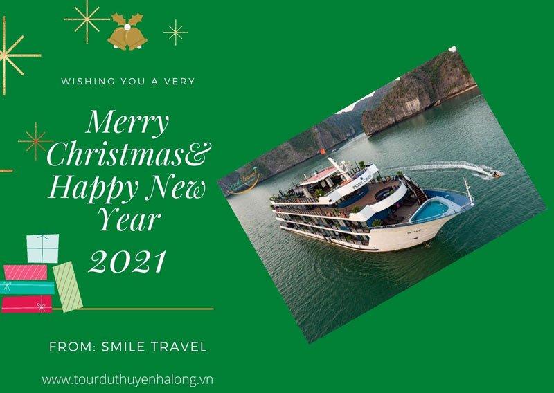 Tận hưởng không khí lễ hội Giáng Sinh và Năm mới trên Du Thuyền Rosy 5*