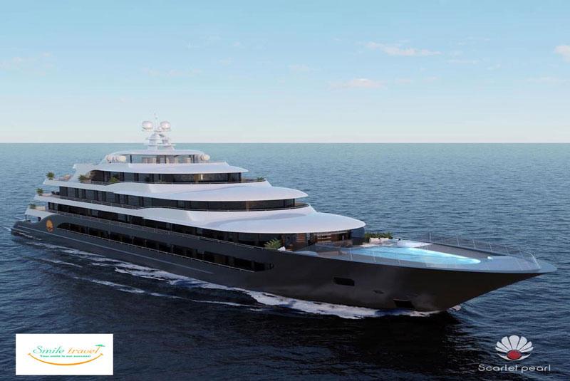 Du Thuyền Scarlet Pearl Premium 5 Sao Đẳng Cấp Sắp Ra Mắt 2022