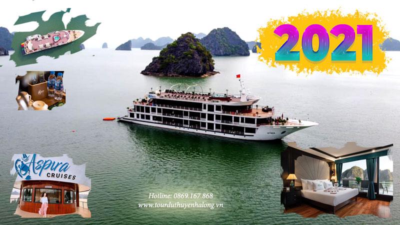 Du thuyền 5 Sao Aspira Cruises Halong, Du thuyền Aspira Cruises