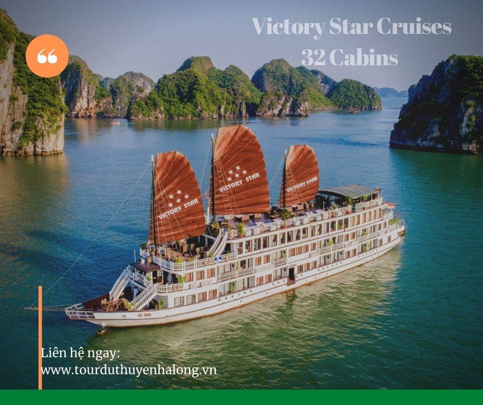 Du thuyền Victory star 5 sao giá tốt nhất cho dịp hè 2021