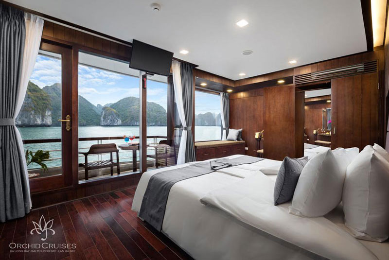 Orchid-cruises-halong-bay-smiletravel-deluxe-suite-double