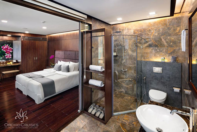 Orchid-cruises-halong-bay-smiletravel-deluxe1-suite-double-bathroom1