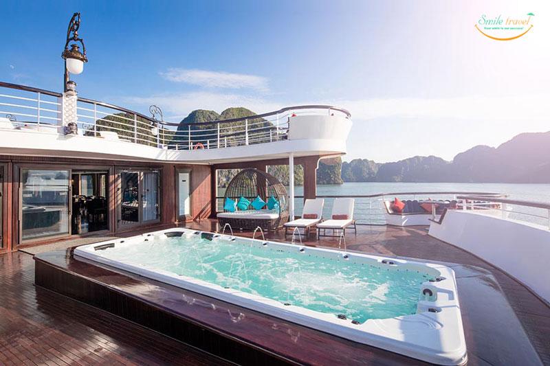 Du Thuyền 6 Sao Ambassador Cruises Vịnh Hạ Long