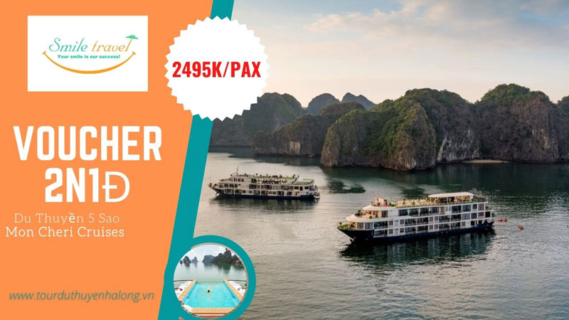 Voucher Du Thuyền Mon Cheri Chỉ Từ 2XXX Giá Cực HOT 2022