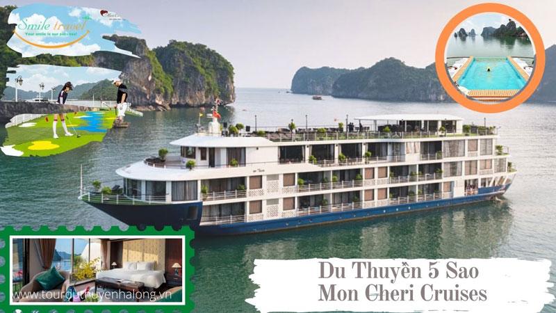 Du thuyền Mon Cheri Cruises Bể Bơi Vô Cực Đẳng Cấp